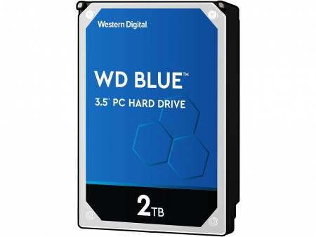 Твърд диск Western Digital Blue 2TB 5400rpm  SATA 6GB/S