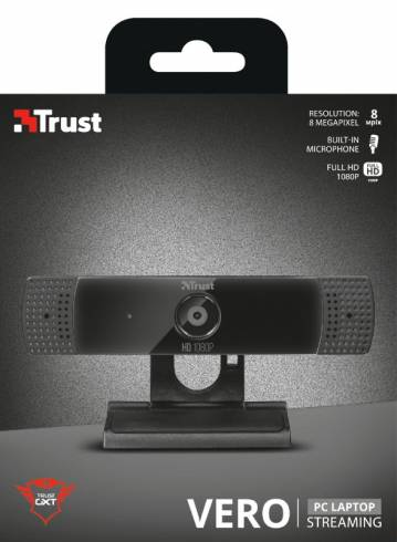 TRUST GXT 1160 Vero Full HD 1080P Streaming Webcam