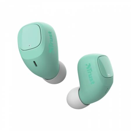 TRUST Nika Compact Bluetooth Earphones Mint