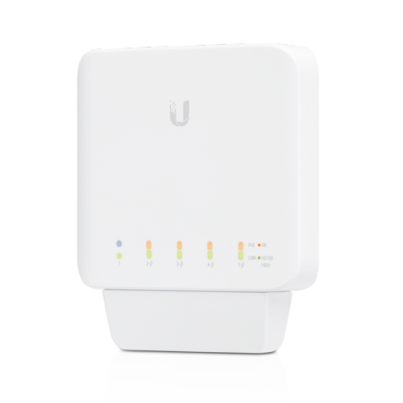 5-портов управляем гигабитен комутатор Ubiquiti UniFi Switch Flex
