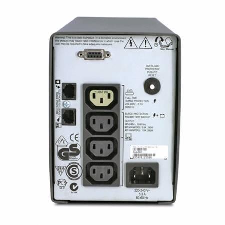 APC Smart-UPS SC 420VA 230V + APC Essential SurgeArrest 5 Outlet 2 USB Ports Black 230V Germany