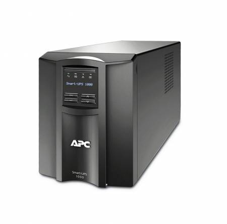 APC Smart-UPS 1000VA LCD 230V with SmartConnect + APC Essential SurgeArrest 5 outlets with 5V