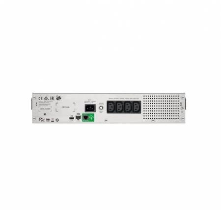 APC Smart-UPS C 1000VA LCD RM 2U 230V with SmartConnect + APC Essential SurgeArrest 5 outlets with 5V