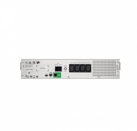 APC Smart-UPS C 1500VA LCD RM 2U 230V with SmartConnect + APC Essential SurgeArrest 6 outlets 230V Germany