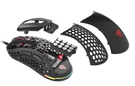 Genesis Ultralight Gaming Mouse Xenon 800 16000 dpi RGB Black