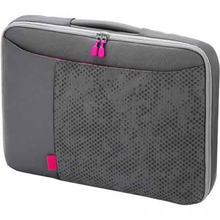 "Чанта за лаптоп до 11.6"" Dicota 7332752001688 сиво-розова"