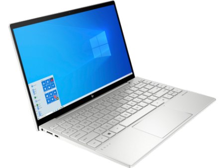 HP ENVY Core i7-10510U quad 16GB DDR4 on-board  1TB PCIe value Nvidia GeForce MX350 2GB  13.3 FHD Brightview Anti-reflection IPS/Privacy 1000 nits W10H6  Natural silver - fingerprint reader