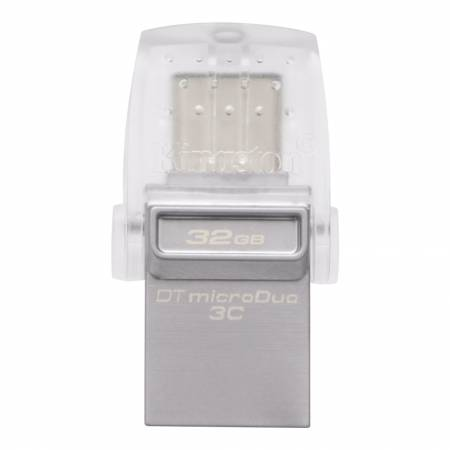 Флаш памет Kingston 32GB DT microDuo 3C USB3.0/3.1 + Type-C (for Smartphones/Tablets