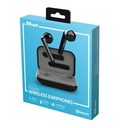 TRUST Primo Touch Bluetooth Earphones Black