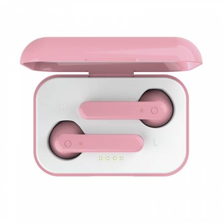 TRUST Primo Touch Bluetooth Earphones Pink