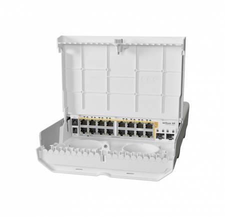 Комутатор Mikrotik netPower 16P CRS318-16P-2S+OUT