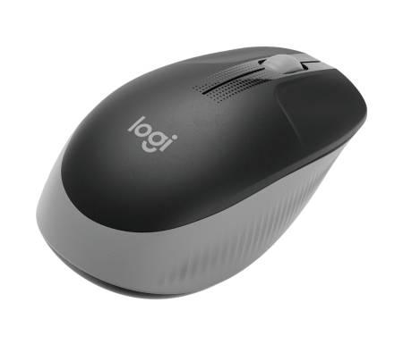 Logitech M190 Full-size wireless mouse - MID GREY - 2.4GHZ - N/A - EMEA - M190