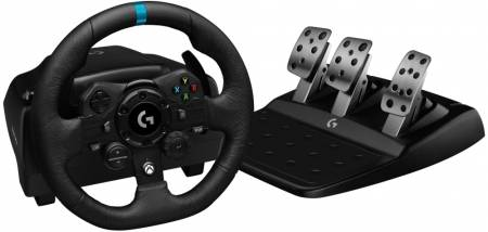Logitech G923 Racing Wheel and Pedals for Xbox One and PC - EMEA