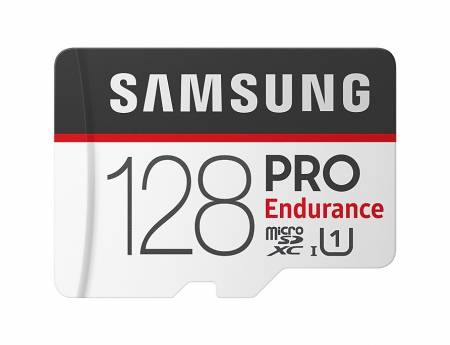 Samsung 128 GB micro SD Card PRO Endurance