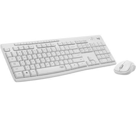 Logitech MK295 Silent Wireless Combo - OFF WHITE - US INTL - 2.4GHZ - INTNL