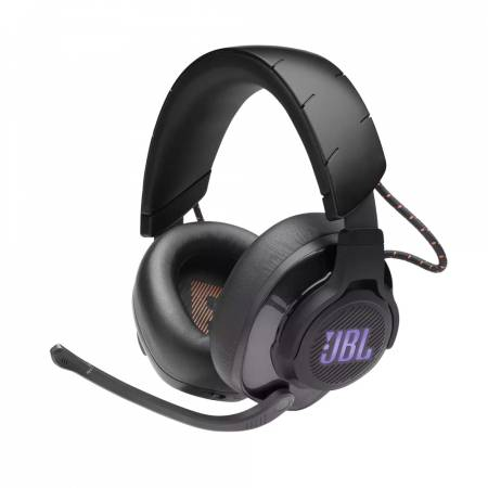 JBL QUANTUM 600 BLK Wireless over-ear performance gaming headset with surround sound and game-chat balance dial