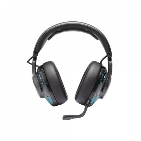 JBL QUANTUM ONE BLK USB wired PC over-ear professional gaming headset with head-tracking enhanced JBL QuantumSPHERE 360