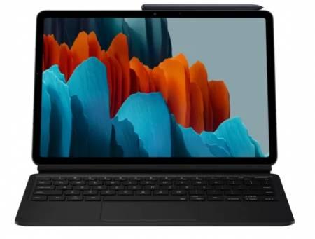 Samsung Tab S7 Bookcover Keyboard Black