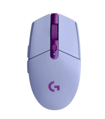 Logitech G305 LIGHTSPEED Wireless Gaming Mouse - LILAC - 2.4GHZ/BT - N/A - EER2 - G305