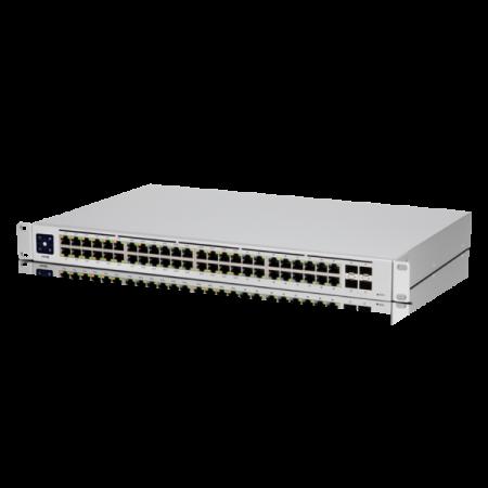 48-портов управляем PoE комутатор Ubiquiti UniFi Switch USW-48-POE