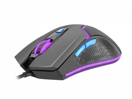 Fury Gaming Mouse Hunter 2.0 6400 DPI Optical With Software RGB Backlight