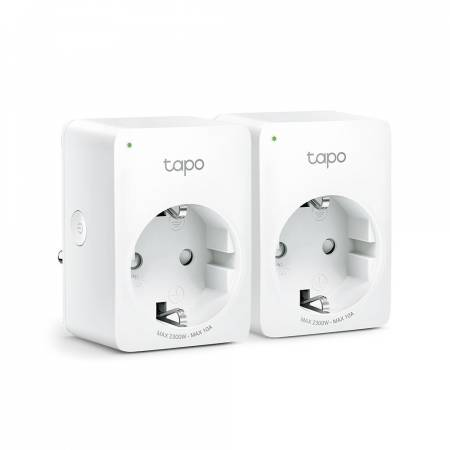 Wi-Fi Smart мини контакт TP-Link Tapo P100 (2-pack)