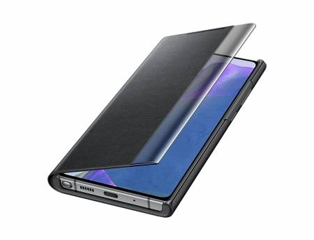 Samsung Note 20 Clear view cover Black