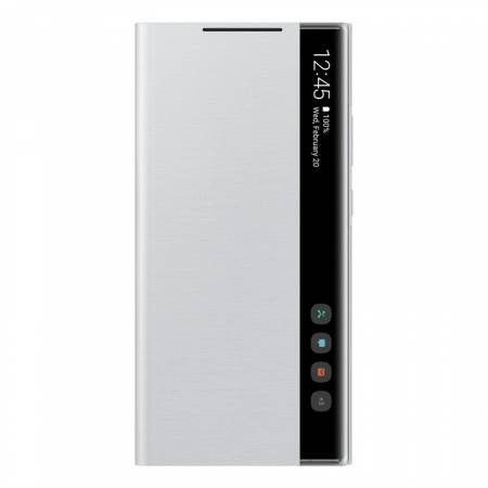 Samsung Note 20 Ultra Clear view cover Mystic White
