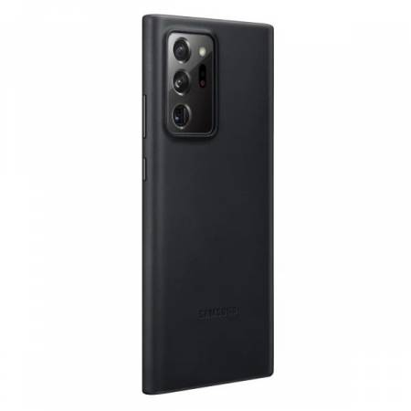 Samsung Note 20 Ultra Leather Cover Black