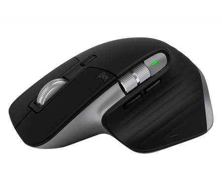 Logitech MX Master 3 for Mac Advanced Wireless Mouse - SPACE GREY - BT