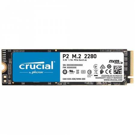 NVMe SSD диск Crucial P2 250GB M.2 2280 CT250P2SSD8