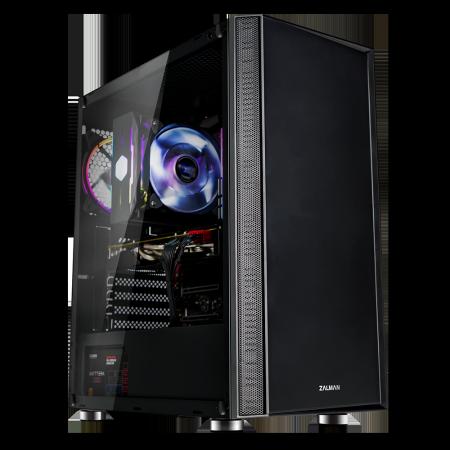 Кутия за настолен компютър Zalman R2 black ATX mid tower