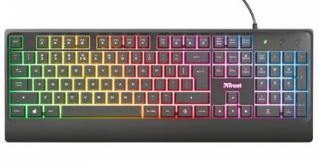 TRUST Ziva Gaming LED Keyboard US