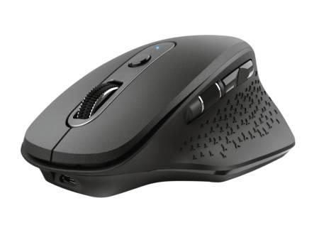 TRUST Ozaa Wireless Rechargeable Mouse Black