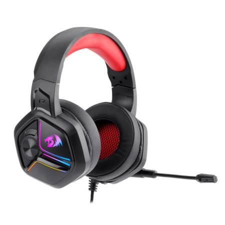 RGB геймърски слушалки с микрофон Redragon Ajax H230-BK