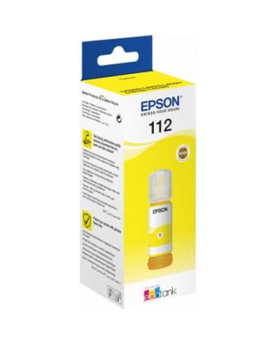 Epson 112 EcoTank Pigment Yellow ink bottle