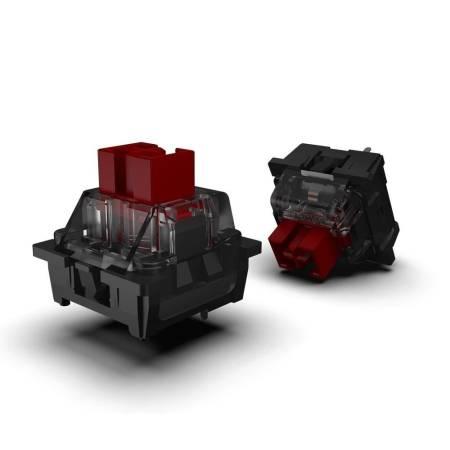 RGB механична геймърска клавиатура Redragon Surara K582RGB-BK red switches