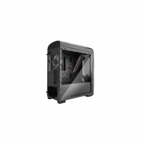 Кутия за настолен компютър Segotep Polar Light V2 ATX Mini POLARLGH-BK-NF-V2 с прозрачен панел