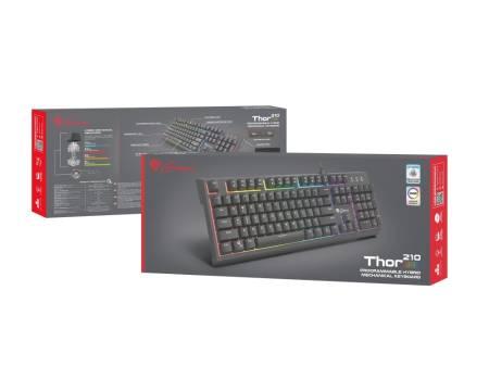 Genesis Hybrid Switch Gaming Keyboard Thor 210 RGB US Layout Backlight