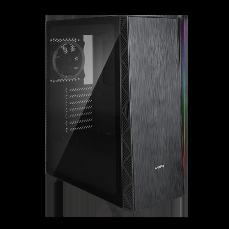 Кутия за настолен компютър Zalman Z3 Neo ATX Mid tower с прозрачен страничен панел