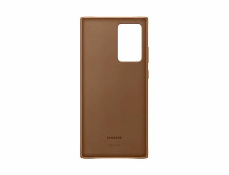 Samsung Note 20 Ultra Leather Cover  Brown