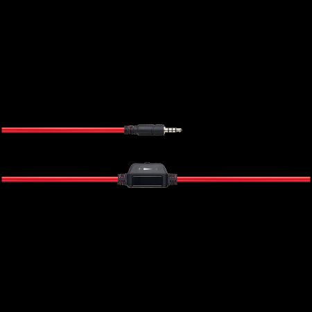 Слушалки с микрофон Canyon HSC-1 Black red CNS-CHSC1BR