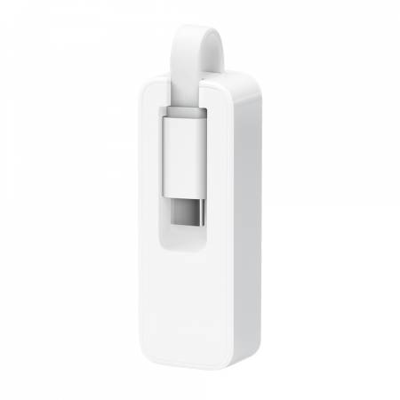 USB Type-C към RJ45 гигабитен мрежов адаптер TP-Link UE300C