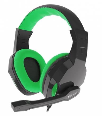 Геймърски слушалки Genesis Headset Argon 100 Green NSG-1435