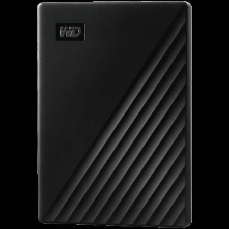 Твърд диск външен WD My Passport 1TB  USB 3.2 Black WDBYVG0010BBK-WESN