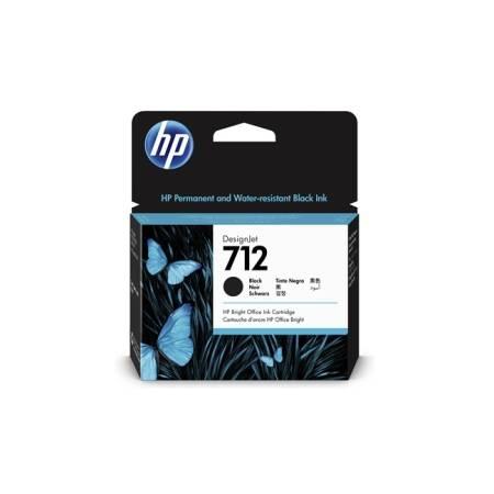 HP 712 80ml Black Ink Cartridge