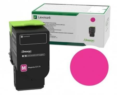 Lexmark 78C2XM0 Magenta Extra High Yield Return Programme Toner Cartridge