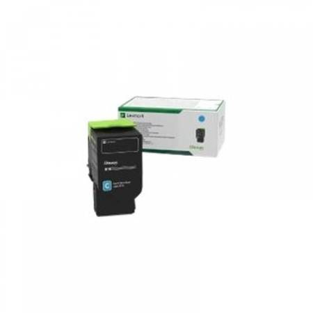 Lexmark 78C2UC0 Cyan Ultra High Yield Return Programme Toner Cartridge