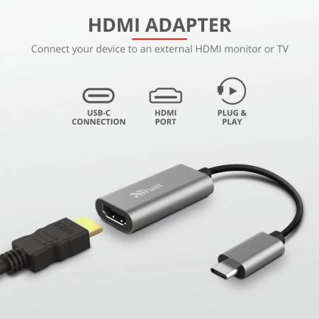 TRUST Dalyx USB-C HDMI Adapter