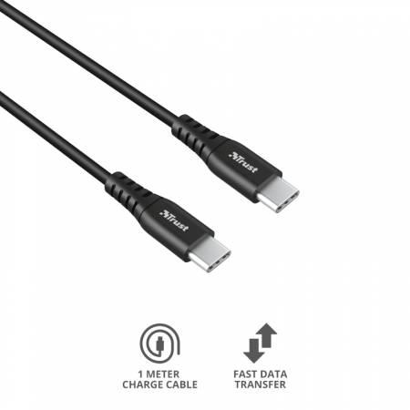 TRUST Ndura USB-C to USB-C Cable 1m